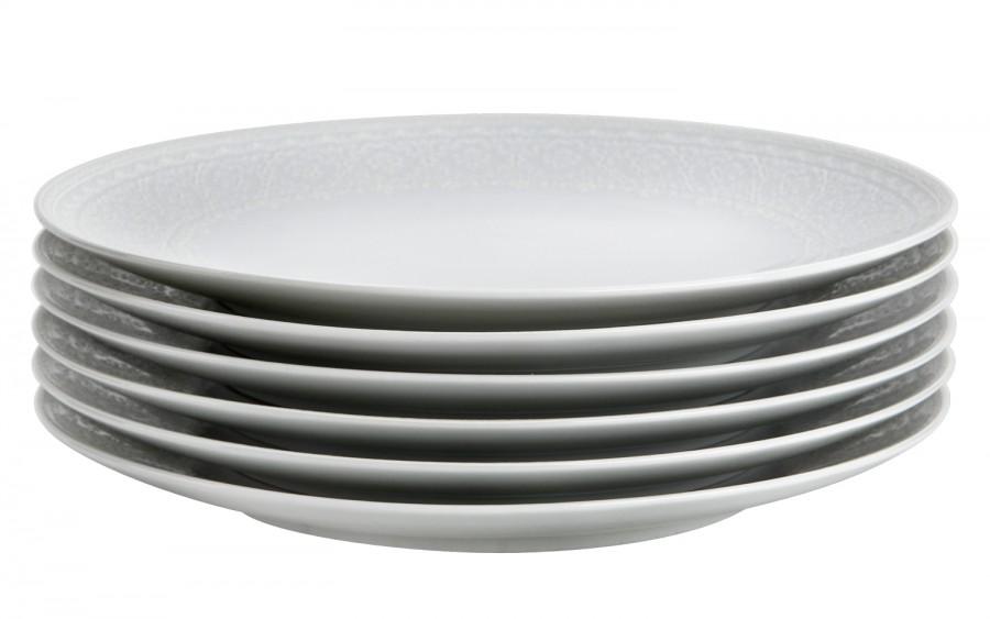 Komplet 6 talerzy deserowych 21,5cm Prowans