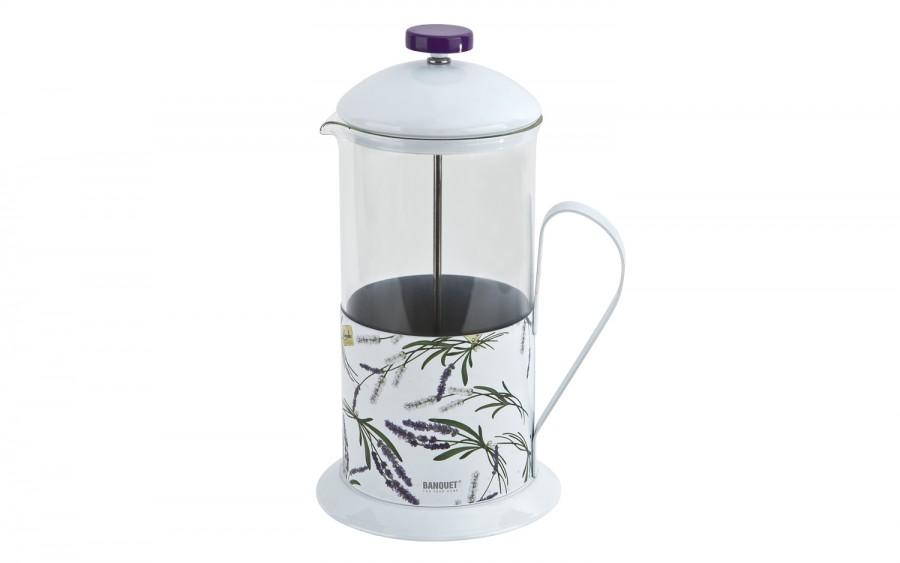 Dzbanek z zaparzaczem do kawy/herbaty 1L Lavender