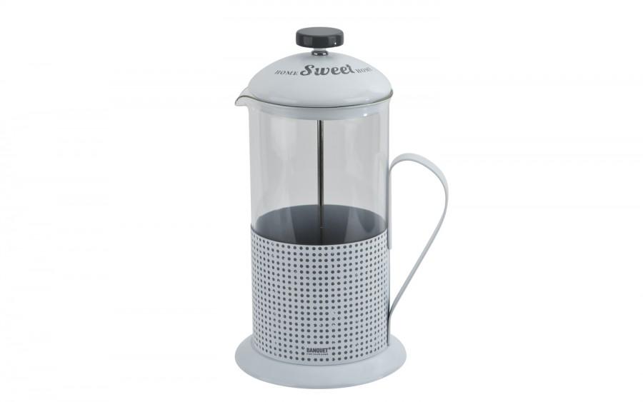 Dzbanek z zaparzaczem do kawy/herbaty 1L Sweet Home