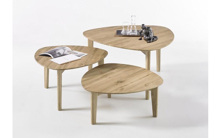 Zestaw 3 stolików Camilla