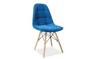 Krzesło Axel III buk/niebieski