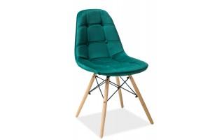 Krzesło Axel III buk/zielony