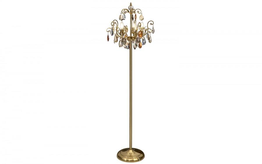 Lampa stojąca kryształowa Fiori 5039/1F