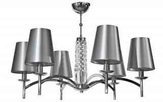 Lampa wisząca kryształowa Silver Glam 5054/6