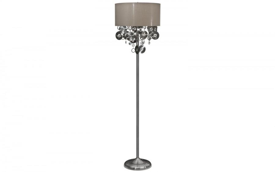 Lampa stojąca kryształowa Chic 5049/1F