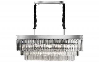Lampa wisząca kryształowa Monk Chrome 33291/9