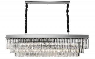 Lampa wisząca kryształowa Monk Chrome 33291/15