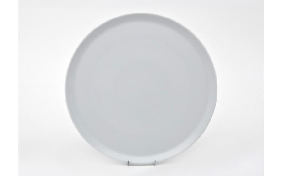 Talerz do pizzy 33 cm Tina gładki biały