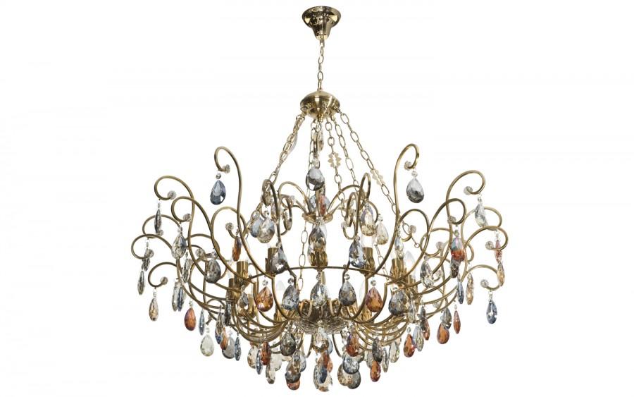 Lampa wisząca kryształowa Fiori 5039/1P-12CP