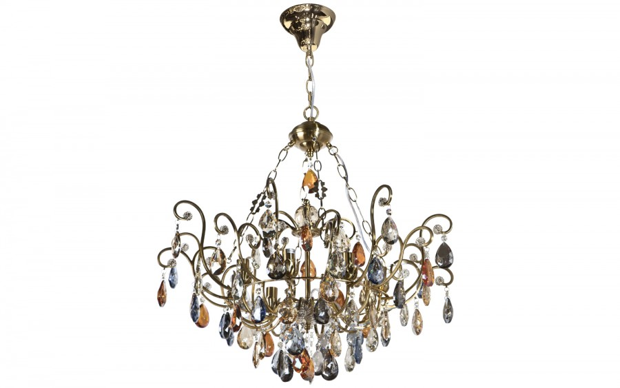 Lampa wisząca kryształowa Fiori 8