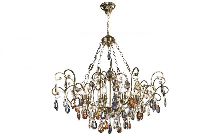 Lampa wisząca kryształowa Fiori 5039/1P-10CP