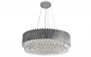 Lampa wisząca kryształowa Stic Chrome 60181/22