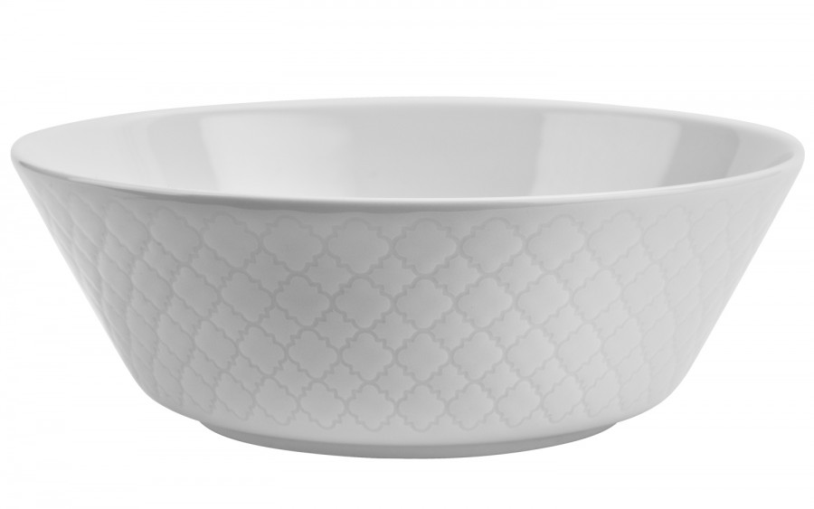 Salaterka 23cm Marrakesz biały