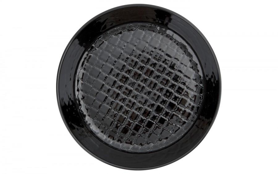 Talerz głęboki 20cm Marrakesz czarny