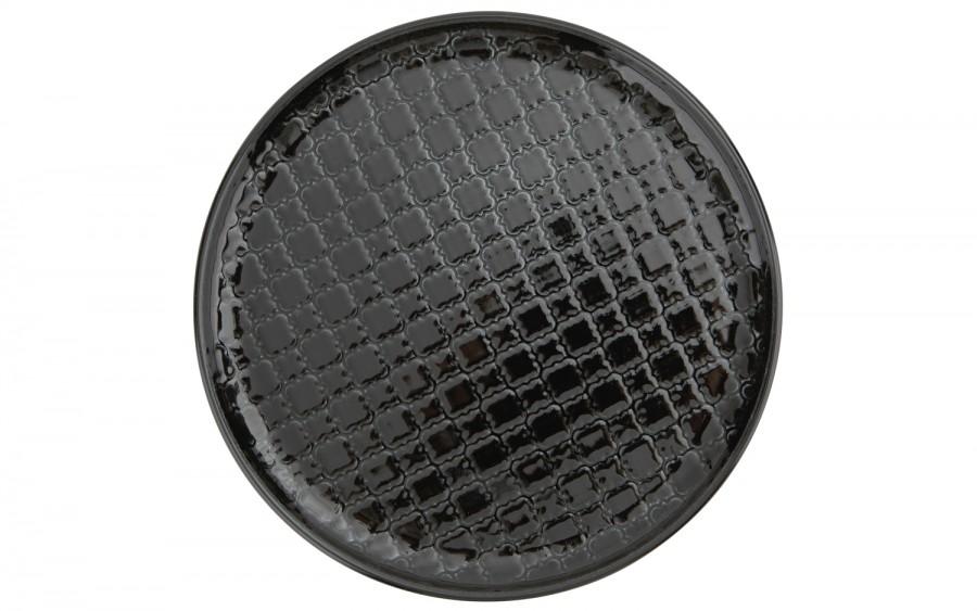 Talerz płytki deserowy 20cm Marrakesz czarny