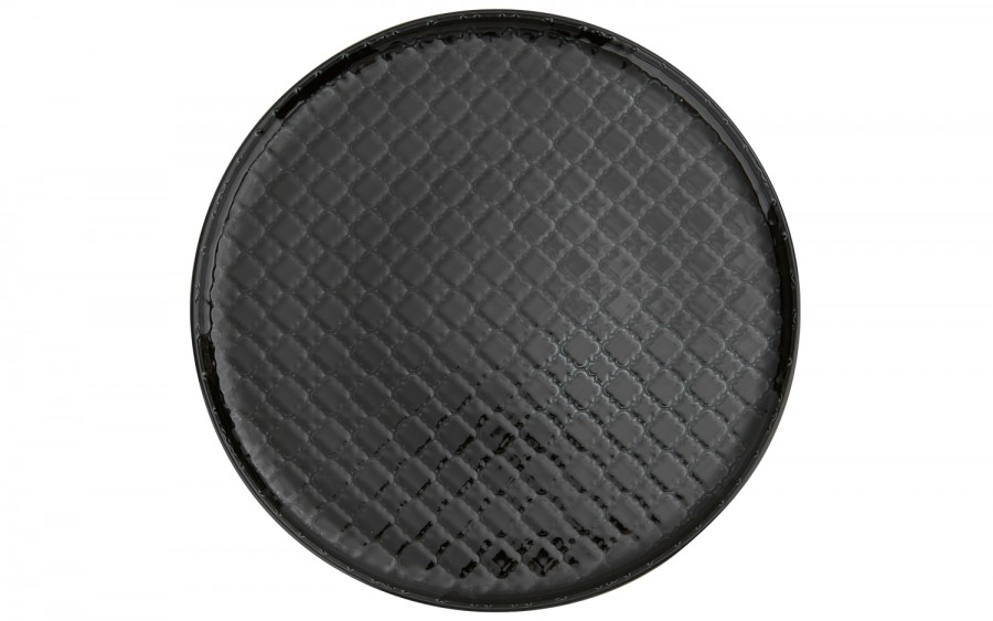 Talerz płytki obiadowy 26cm Marrakesz czarny