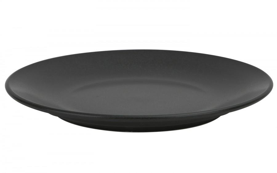 Talerz płytki 28cm Coal black