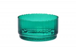 Salaterka szklana zielona