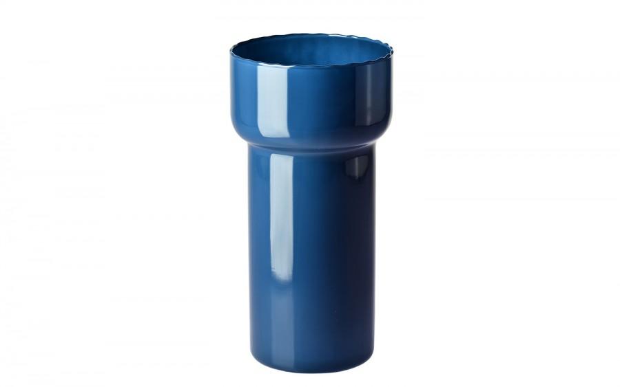 Wazon szklany granatowy Krosno
