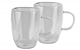 2x szklanka 270ml z podwójną ścianką Duo