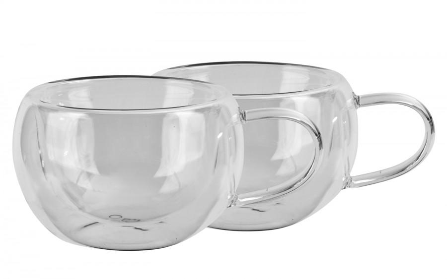 2x szklanka 280ml z podwójną ścianką Duo