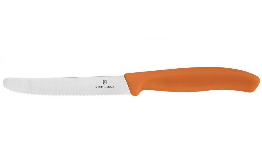 Nóż stołowy Swiss Classic pomarańczowy