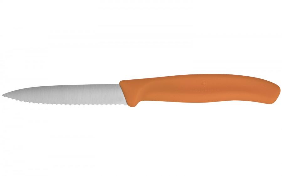 Nóż do warzyw i owoców Swiss Classic pomarańczowy