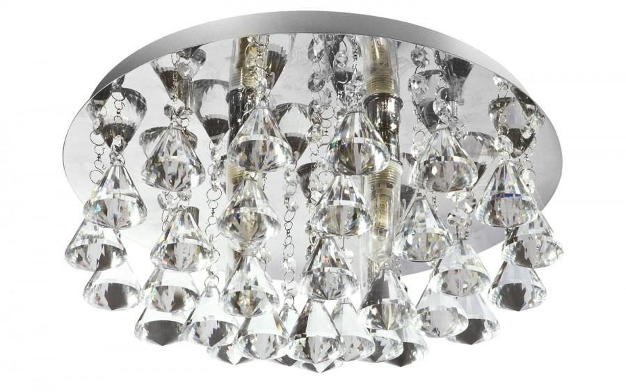 Lampa sufitowa plafon kryształowy Hanna 2204-4CC