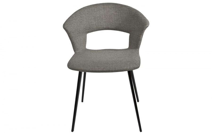 Krzesło PIC szare metalowe nóżki