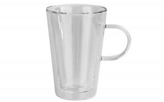 Kubek- szklanka z podwójną ścianką Doblo 330ml