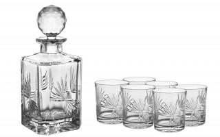 Komplet Karafka ze szklankami Bohemia