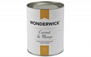 Biała świeca Coconut & Mango 230 g