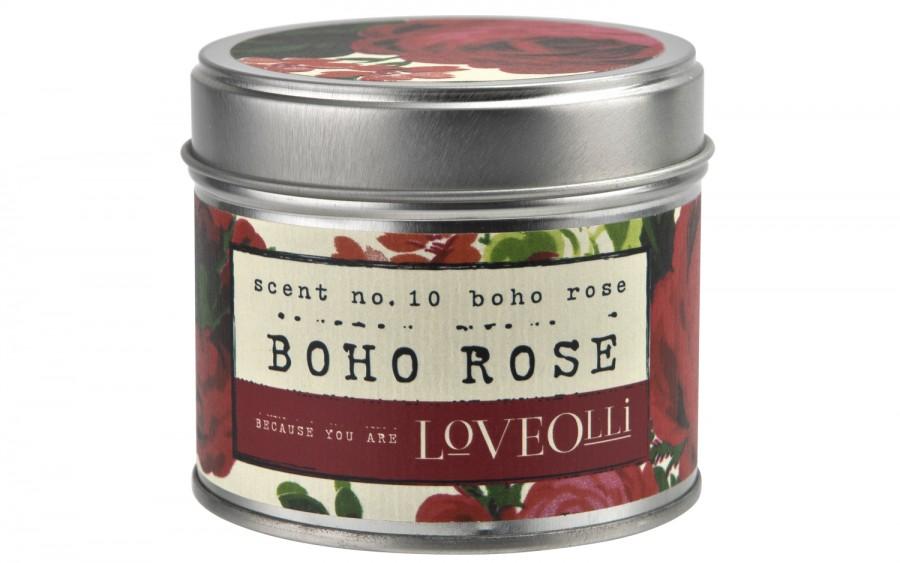 Świeca Boho Rose 190 g