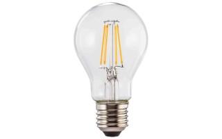 Żarówka LED A60 FLM E27 6,5W Ciepła