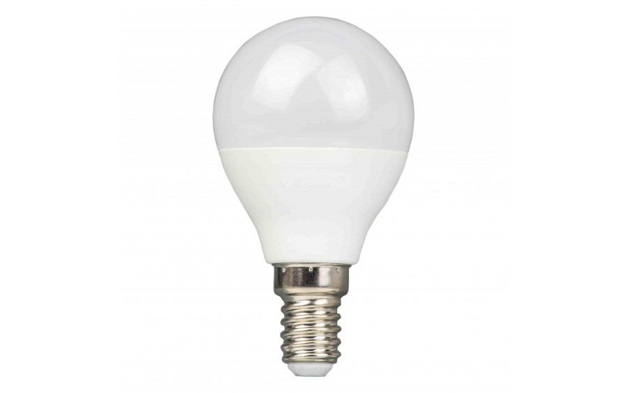 Żarówka LED kulka G45 E14 8W Mleczna Ciepła