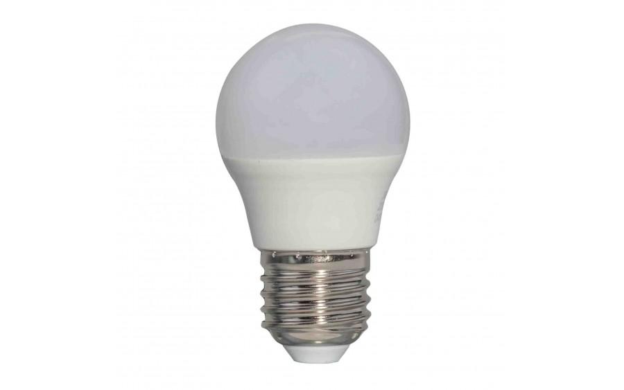 Żarówka LED kulka G45 E27 6W Mleczna Ciepła