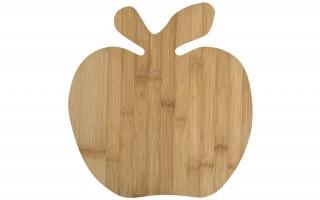 Bambusowa deska do krojenia - jabłko