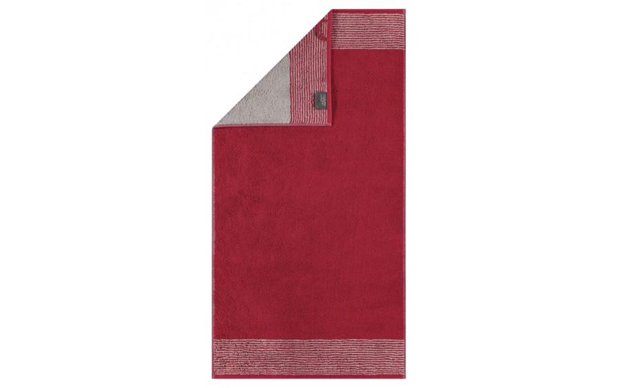 Ręcznik TWO-TONE Bordeaux 30x50 cm