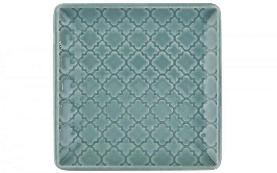 Talerz płytki kwadratowy 11 cm Marrakesz