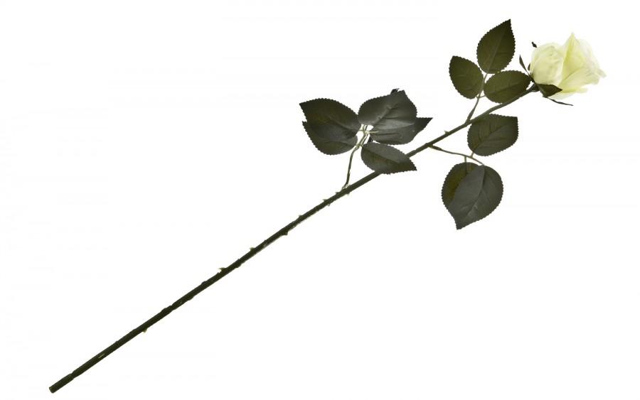 Róża kwiat sztuczny 70 cm
