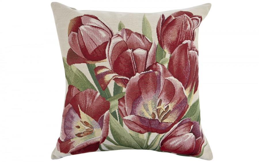 Poszewka 45/45 Tulipany