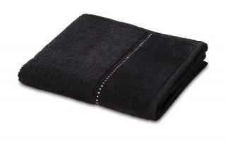 Ręcznik czarny 50x100 cm CRYSTALS 0-2960