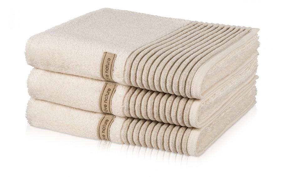 Ręcznik kremowy 80x150 cm WELLNESS
