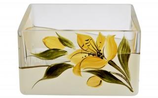 Salaterka kwadratowa Lilia 8,3 cm