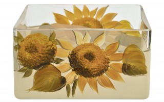 Wazon Słoneczniki 8 cm