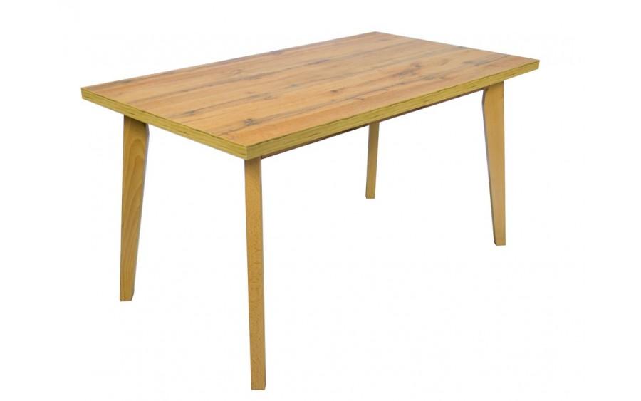 Stół ST-02 140x80+40 Blat Wotan