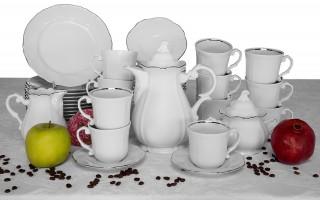 Serwis do kawy 12/27 Luis Platina