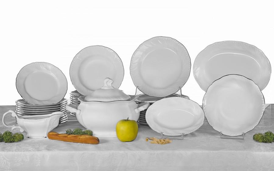 Serwis obiadowy 12/41 Luis Platina