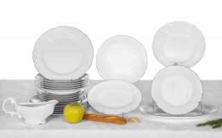 Serwis obiadowy 6/22 Luis Platina