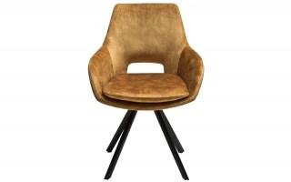 Krzesło Hamburg złote